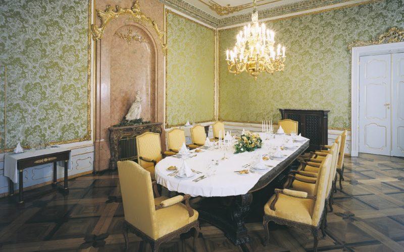Zelený salónek